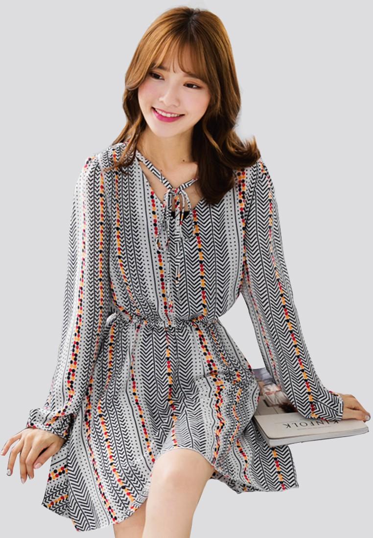 Totem Wonders Chiffon Dress