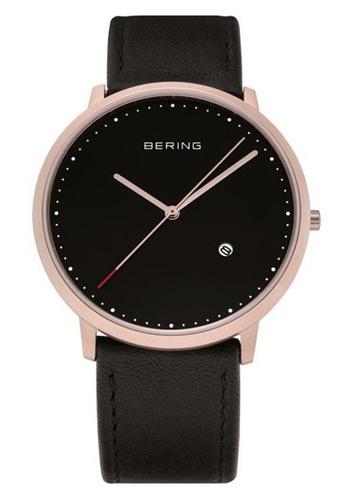Bering gold Classic 11139-462 Black 39 mm Unisex Watch FFEBBAC1EAF084GS_1