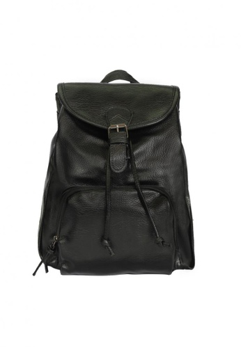 Buy GreyPlus DION Leather Backpack | ZALORA Singapore