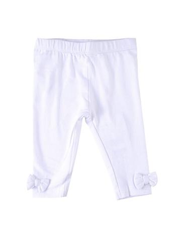 Du Pareil Au Même (DPAM) white Bow Leggings 0386DKACAB926DGS_1