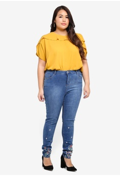 Footlocker For Sale Dorothy Perkins Womens 'Corey' Authentic Cropped Boyfriend Jeans- Amazing Price Cheap Online Cheap Largest Supplier Sale Free Shipping Clearance Affordable PgW4MgIZq