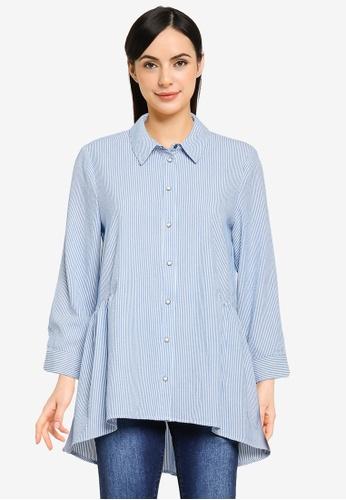 ONLY blue New Canberra Shirt F888CAA0CD4314GS_1