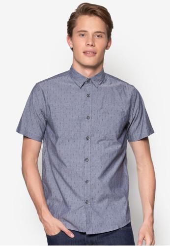 Classic Casual Short Sleeves Shirtesprit旗艦店, 服飾, 印花襯衫