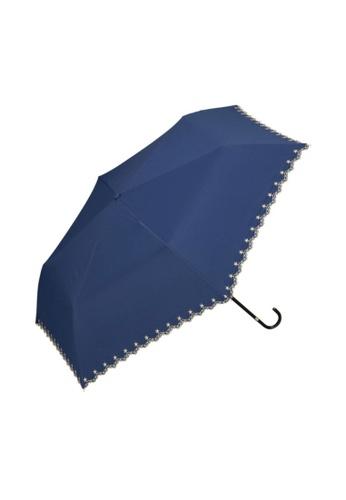 WPC blue WPC Parasol Star Scallop Mini Umbrella (Navy) 18F05AC31DC63DGS_1