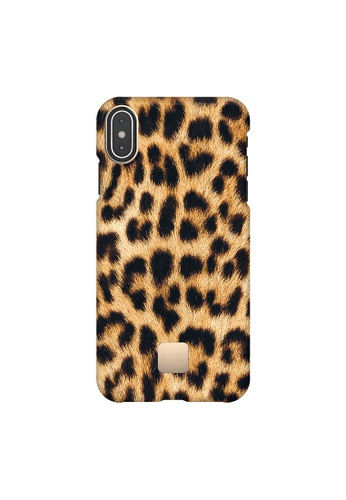 """happy plugs black and brown Happy Plugs for iPhone XS Max (6.5"""")  -  Leopard 42527AC6F33B41GS_1"""