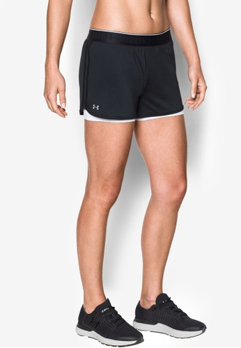 Under Armour black and white UA Heat Gear Armour Shorts UN337AA0RUG1MY_1