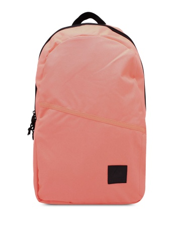 Reebok pink and orange Style Found Follow Backpack RE691AC0RYB9MY_1