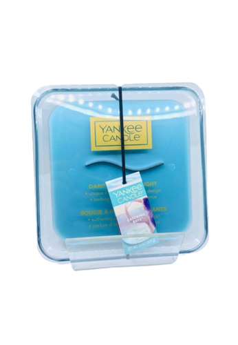 Yankee Candle blue Ribbonwick Dancing Flame Catching Rays FE128HL5BD83F4GS_1
