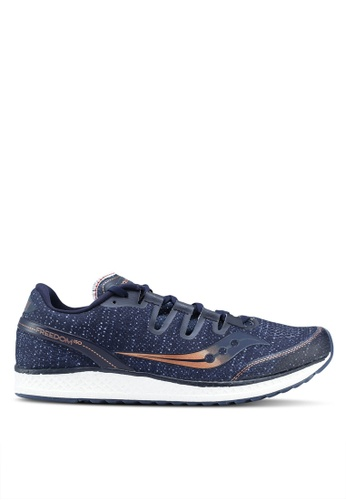 Saucony navy Freedom ISO Shoes SA304SH0SW53MY_1