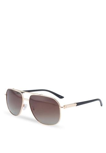 Privé Revaux 褐色 The Dealer Sunglasses FB0A5GLC3F815AGS_1