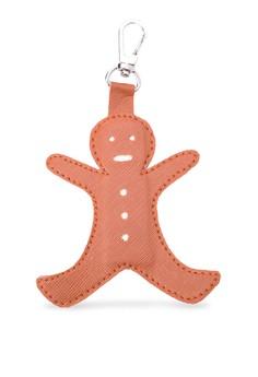 Gingerbread man Keyholder/bagcharm