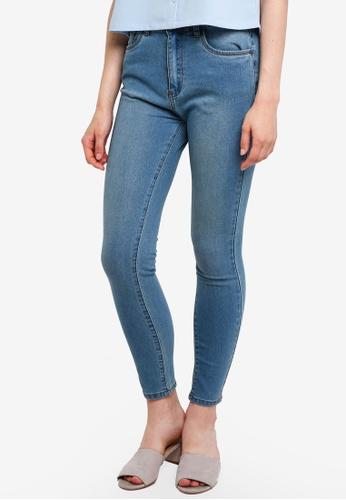 Something Borrowed blue Distressed Skinny Jeans 5ED8BAAB016A02GS_1