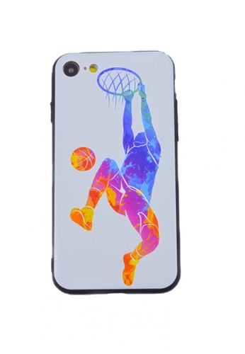 Fancy Cellphone Cases multi Basketball Soft Case for iPhone 7/8 C238DACE536827GS_1