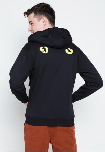 CATS black Unisex Cat Ear Hoodie 017EDAAAC46253GS_1