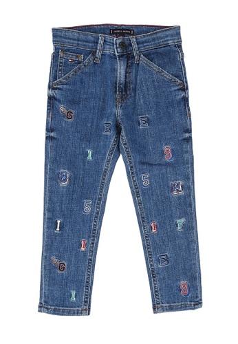 Tommy Hilfiger blue Carpenter Straight Fit Jeans CFEA9KA1AFB327GS_1