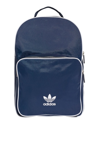adidas navy adidas originals classic backpack AD372AC0SUXNMY_1