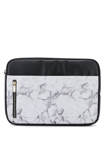 Typo white Take Charge 13 Inch Laptop Cover 667E0ACD018782GS_1