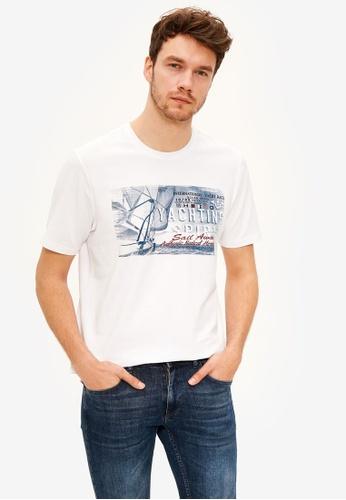 LC Waikiki white Crew Neck Cotton T-Shirt F5ABDAA624303DGS_1