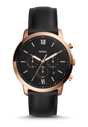 Fossil black Neutra Chrono Chronograph Watch FS5381 47CD2ACFC3C622GS_1