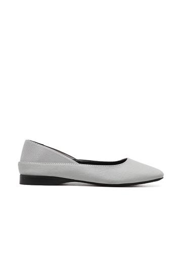 Sunnydaysweety grey 2017 New Simple Plain Flat Shoes A03167GY SU443SH06PEFHK_1