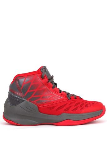 World Balance red Shake N Bake Mens Basketball Shoes DA04CSH2785E8FGS_1