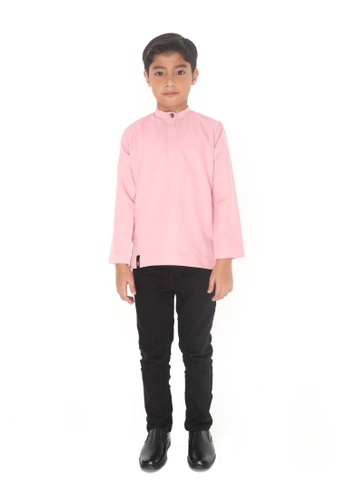 Amar Amran pink Kurta Aqil For Kids 3492EKADA38746GS_1