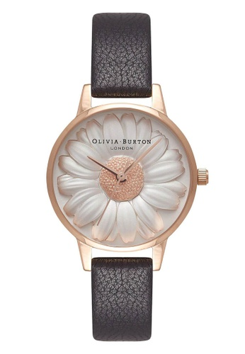 8dcc6c4859f0 Olivia Burton gold 3D DAISY Rose-Gold 30 mm Women s Watch C7D52AC8B8FEF5GS 1