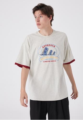 Twenty Eight Shoes Trend Printed Short T-Shirt HH0243 30D37AAE38F516GS_1