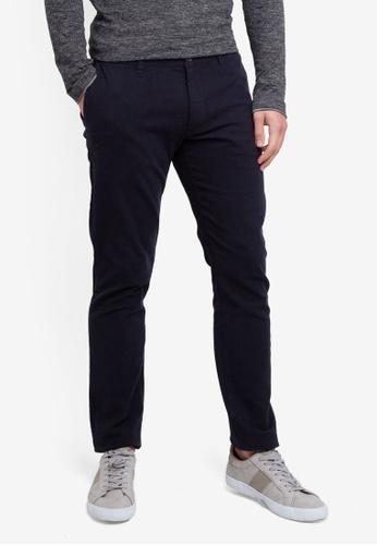 ESPRIT 海軍藍色 Woven Length Service Pants D86D5AA39EEEB3GS_1