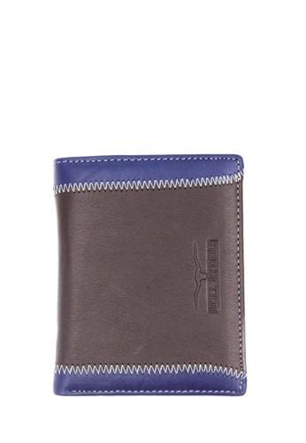 midzone brown Genuine Leather Wallet MI949AC19BKAMY_1
