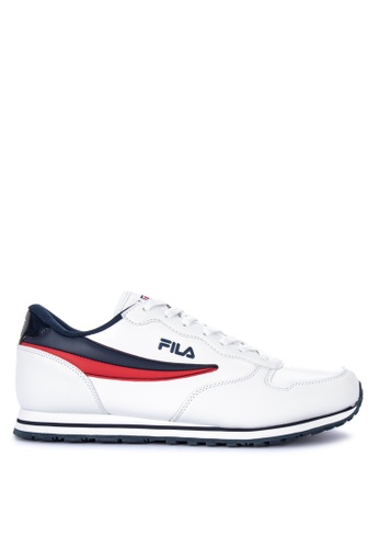 Fila white and multi FC Jogger Sneakers 82777SHD42138EGS_1