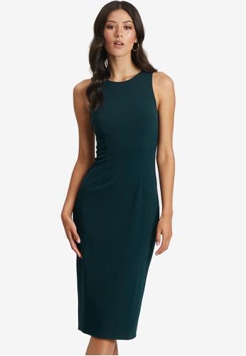 Tussah green Harlow Midi Dress 3B378AAFA0C35FGS_1