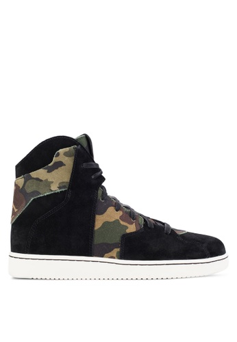 Nike black and multi Jordan Westbrook 0.2 Shoes NI126SH53LASMY_1