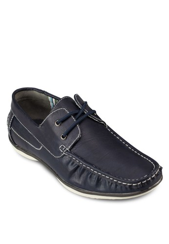 Axenbesprit outlet 家樂福erg 繫帶仿皮船型鞋, 鞋, 鞋