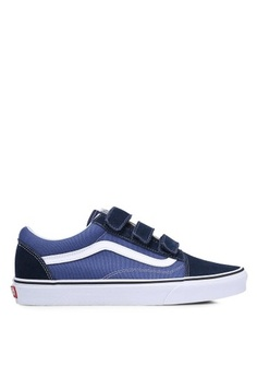549ca6c94a3b Psst... we have already received your request. VANS. Old Skool V Suede and  Canvas Sneakers