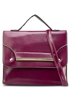 Sling Bag with Metal Bar