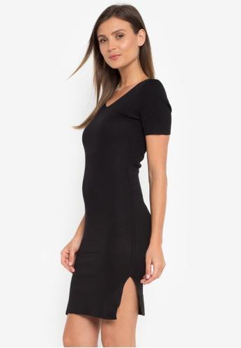 c437bbaf45e4 Shop LA VIDA MODA Pia Bodycon Ribbed Dress Online on ZALORA Philippines