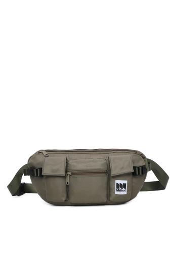 Milliot & Co. green Humphrey Waist Bag 60E29AC9BDA7FEGS_1