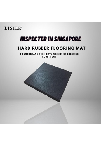MEDPRO Gym mat shock-absorbing mat dumbbell barbell Hard Rubber Flooring Mat Inspected in Singapore BBA8ASE6EDFBEFGS_1
