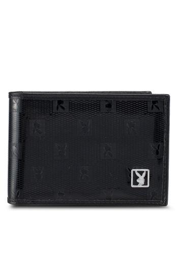 Playboy black Playboy Rfid Blocking Wallet 09066ACC020FFAGS_1