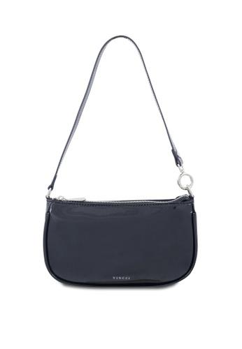 VINCCI black Shoulder Bag E8100AC76ED236GS_1