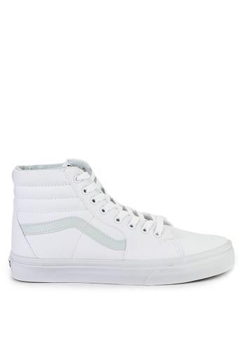 VANS white Ua Sk8-Hi 011F1SHA4CD787GS_1