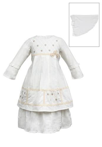 INFINE beige Muslim Dress Anak Esm 232 4/10 6EA9AKA3453196GS_1