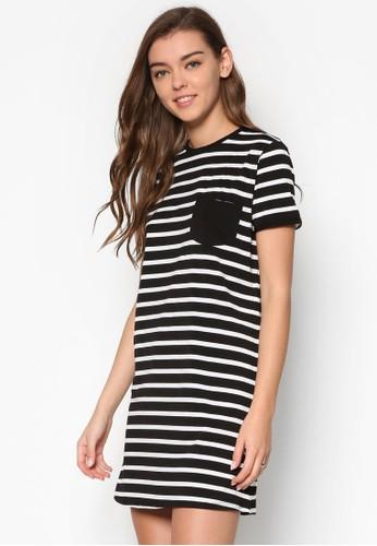 Ringer 條紋連身裙TEEesprit 折扣, 服飾, 洋裝