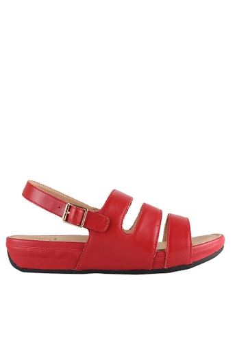 Hush Puppies red Hush Puppies KALI I In Red HU319SH0H9E1SG_1