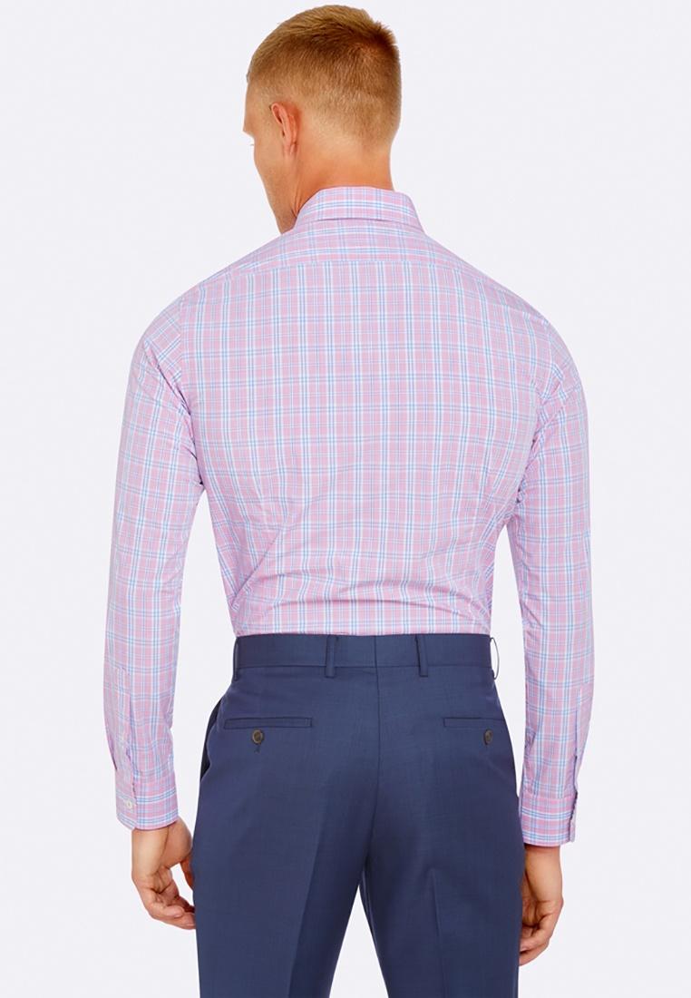 Peach Beckton Oxford Beckton Checked Shirt Checked Shirt wExEqYgO