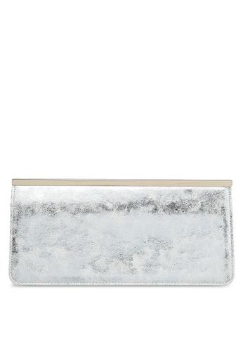 Dorothy Perkins white White Bar Top Clutch DA07AAC8D619FDGS_1