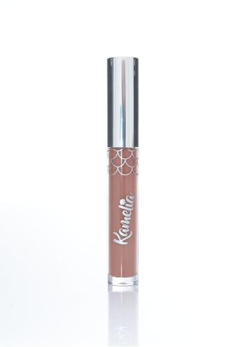Kamelia Cosmetics brown Mermaid Matte Lip Cream - Azalea KA718BE0SPE7MY_1