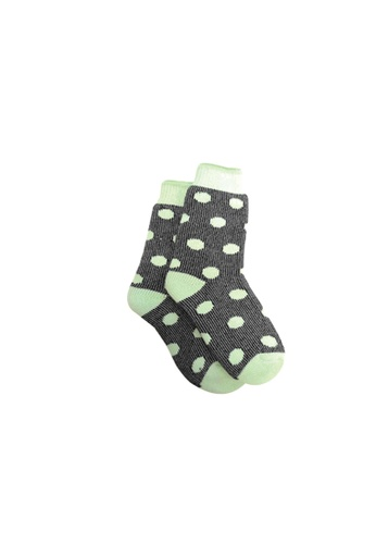 Universal Traveller green Universal Traveller Women Thermal Socks - SKCW 9267 9D345AAFC8F4F3GS_1