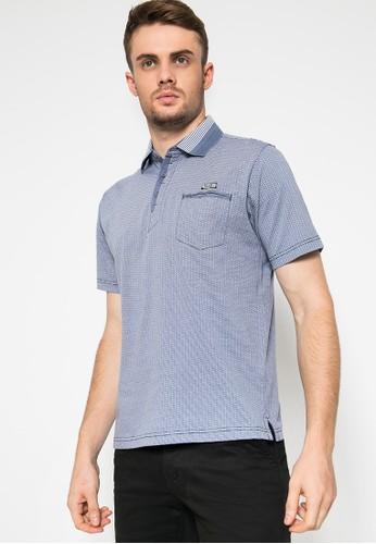 LGS blue Regular Fit - Kaos Casual - Kaos Polo - Biru 1DF7DAA17AAB8EGS_1